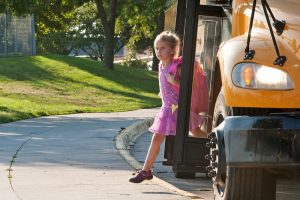 DMPS bus drivers operate a school bus in a safe and efficient manner to insure the safety of passengers.