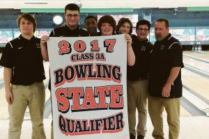 Roosevelt high school bowling team.