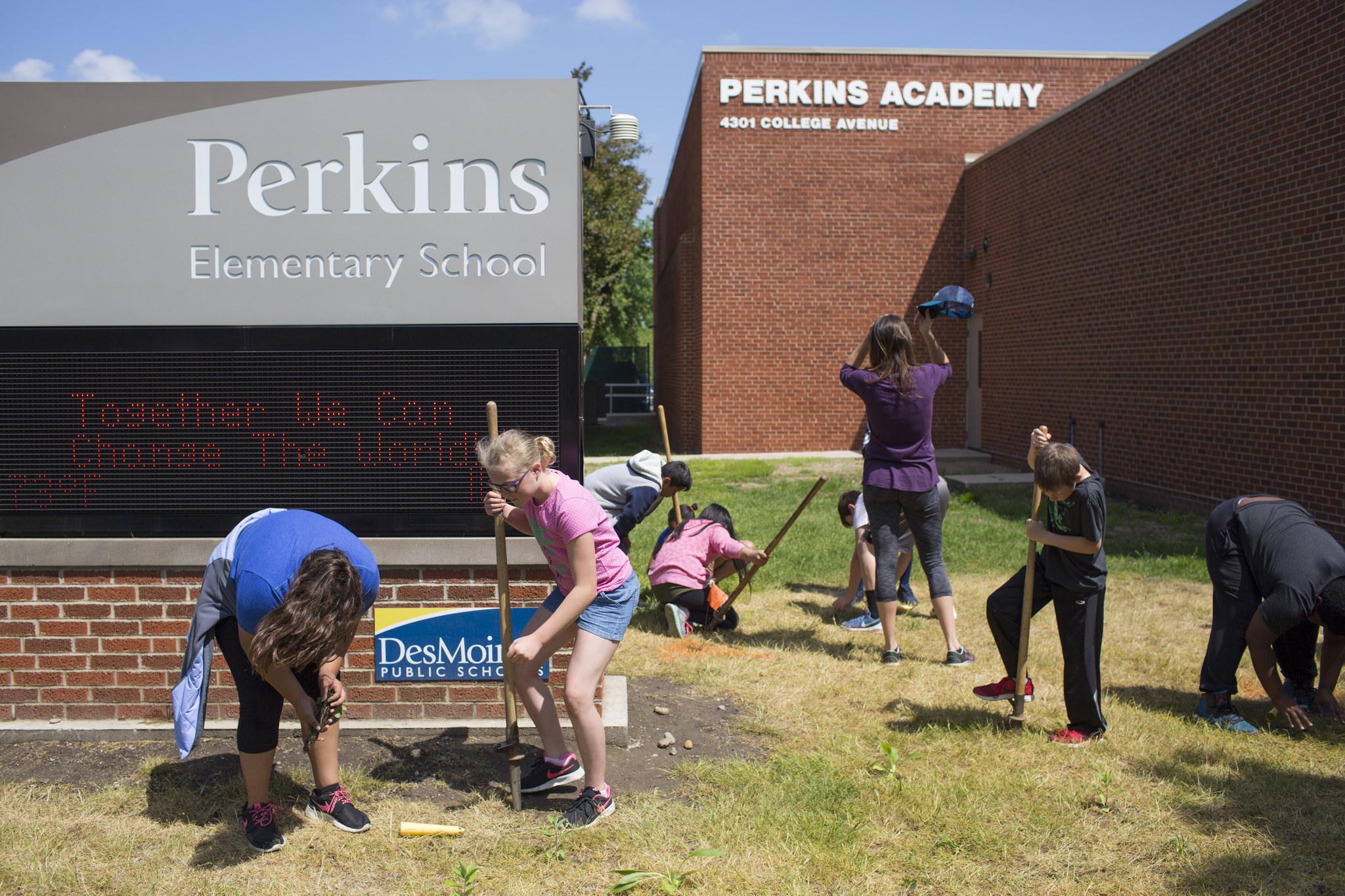 A Colorful Spring For Perkins Penguins Des Moines Public Schools