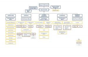 DMPS Organizational Chart