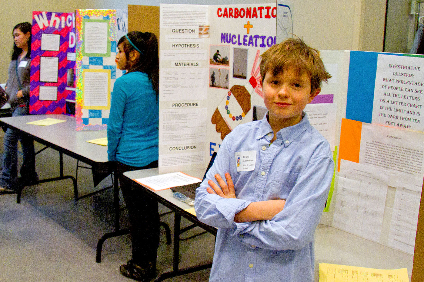Middle School Student Projects on Display at Annual ...