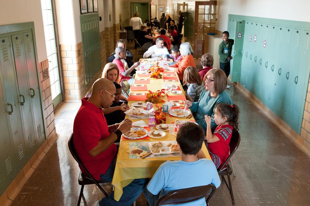 open school doors. Smouse Students, Staff Open School Doors For Thanksgiving
