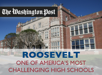 Roosevelt Recognized as One of Nation's Top College-Prep High Schools