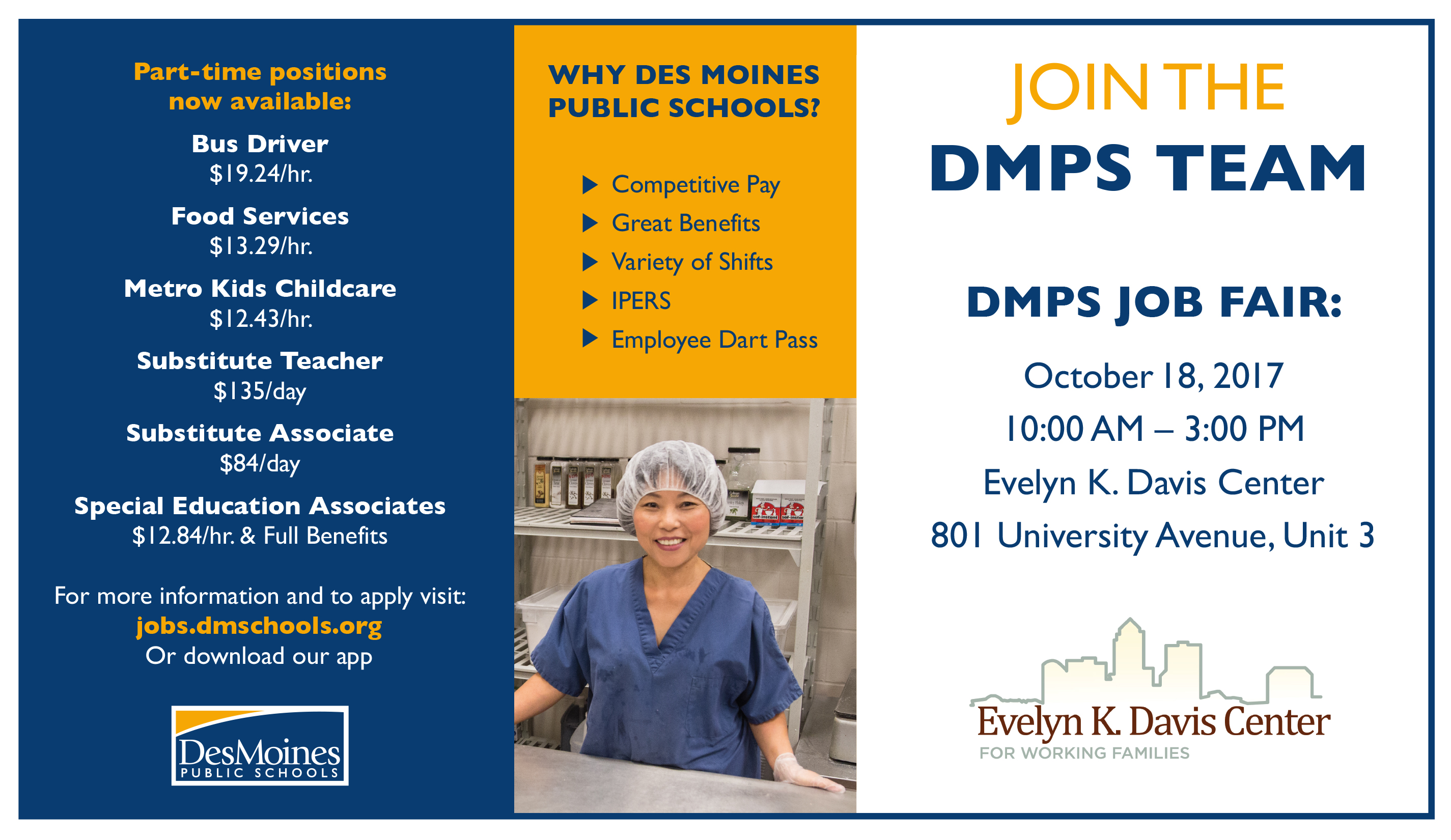 Jobs At Dmps Des Moines Public Schools