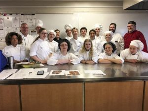 Central Campus culinary arts students.