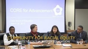 CORE Presents to State Board of Education thumbnail