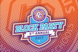 Central Campus Block Party flyer