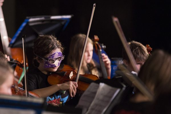 Super Strings! Campers Take to the Stage at North High